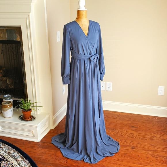 RICARICA Chiffon Maxi Dress